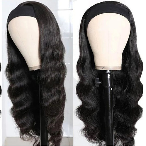 Bodywave headband wig