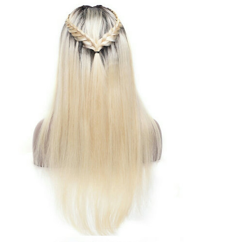 "1B/613 blonde ombre ""khloe"" wig"