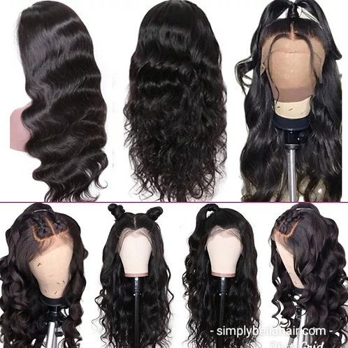 360 frontal wig 16in