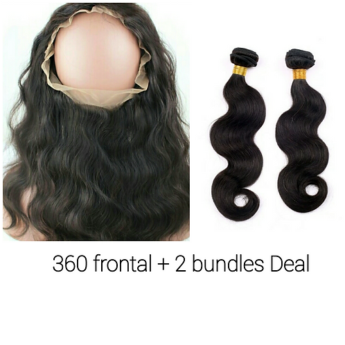 360 frontal + 2bundles