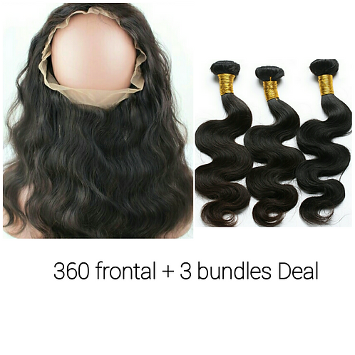 360 frontal + 3bundle deal