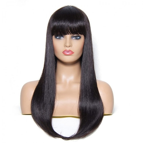 "Straight wig with bangs ""Farrah"""