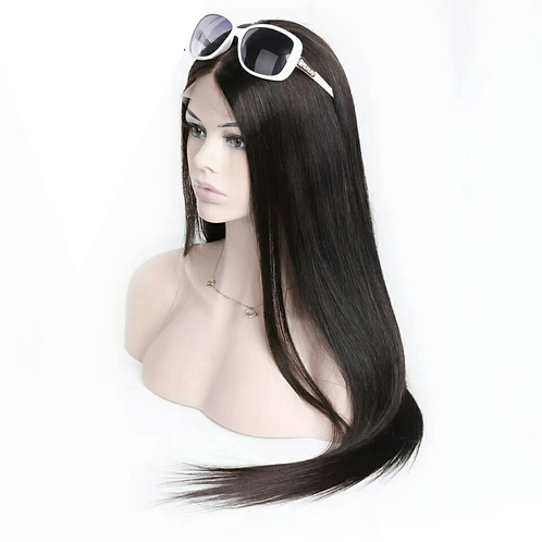 "Straight hair ""Kia wig""  (transparent closure)"