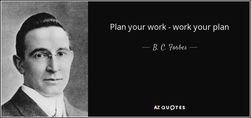 Plan It Everytime