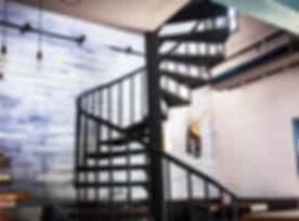 spiral wooden staircase circular staircase decoration interior..jpg