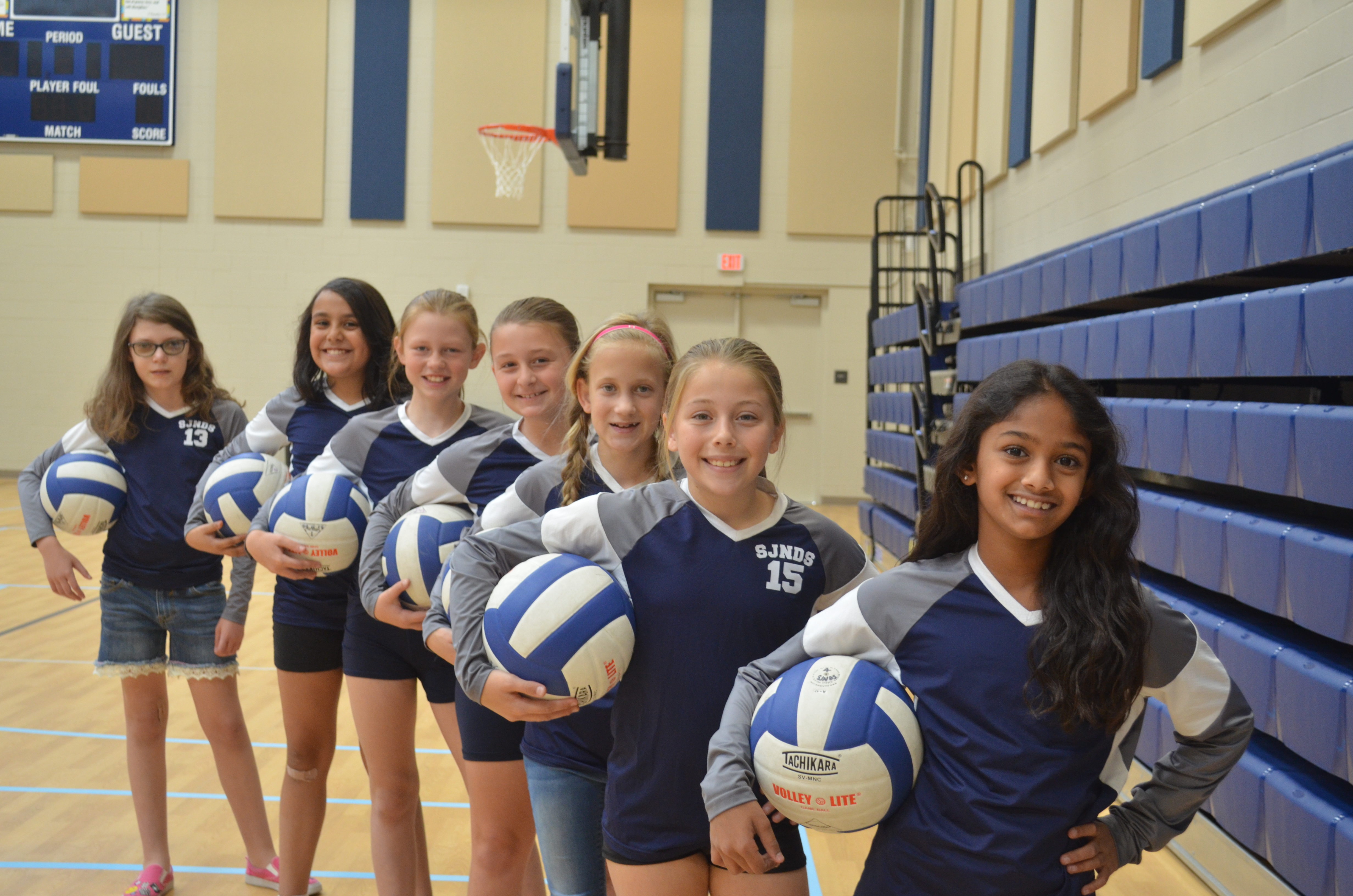JV Comp Girls Volleyball