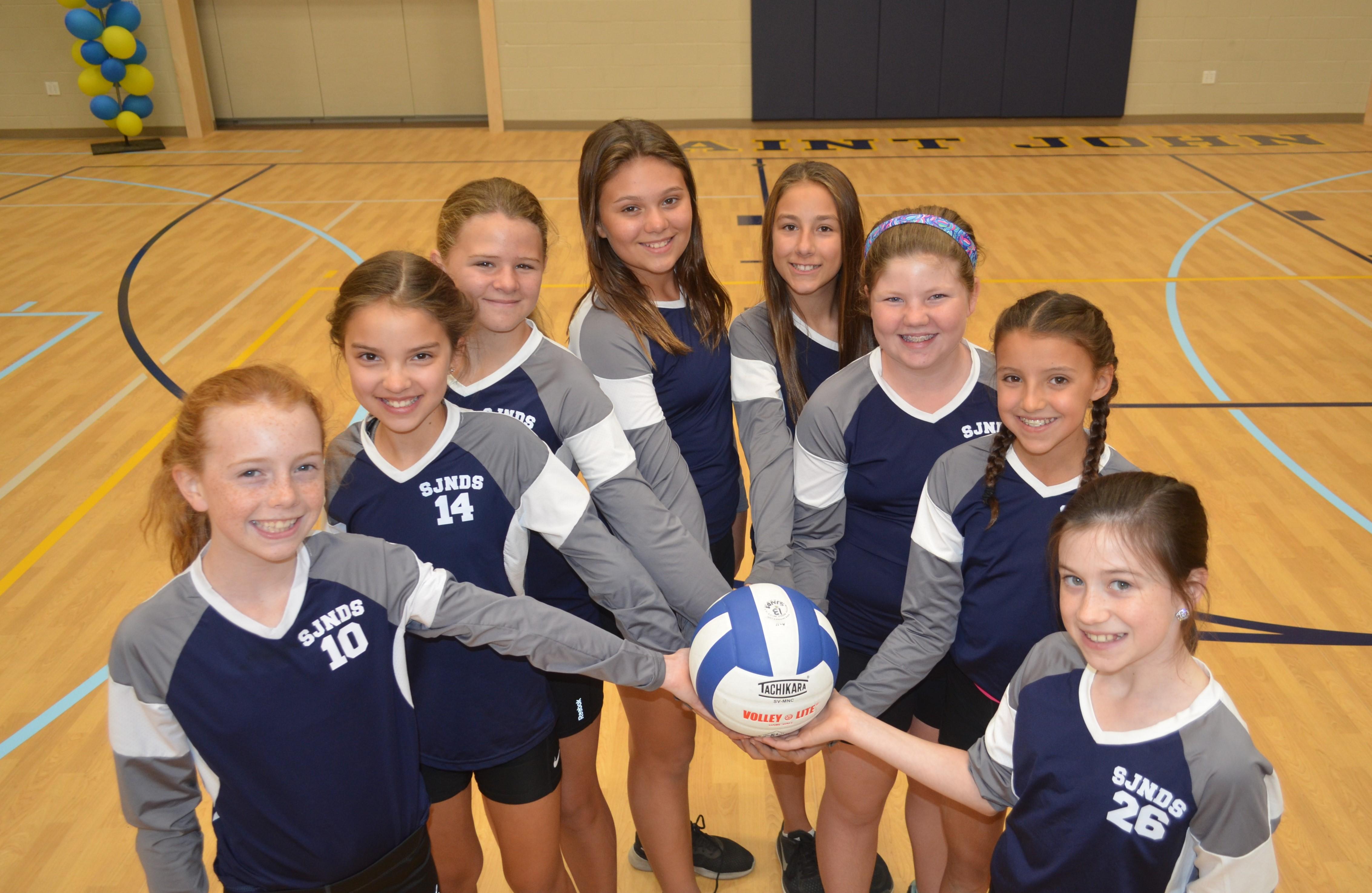 JV Rec Girls Volleyball
