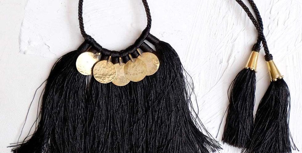 Handmade Zabra Floos Necklace