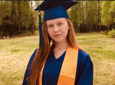 HCA's first graduate 2020