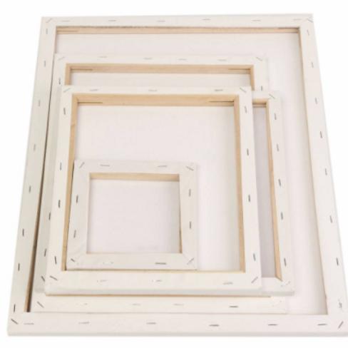Canvas met houten frame 18x24cm