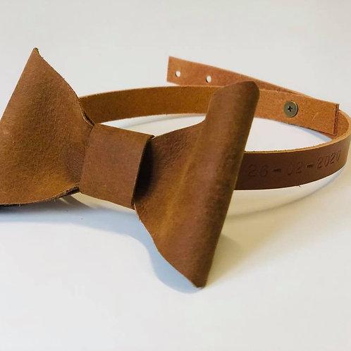 Bow tie - lederen strik - getuige