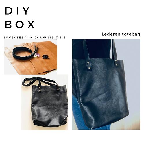 DIY box Lederen totebag
