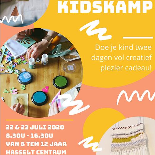 Creakamp for kids 22&23 juli 2020