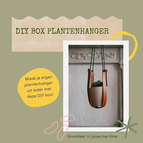 DIY box plantenhanger