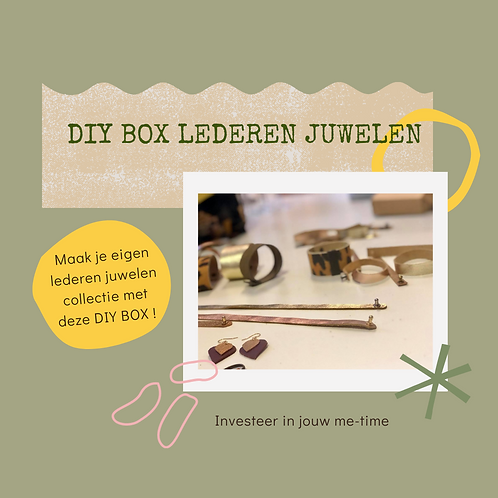 DIY box Lederen juwelen