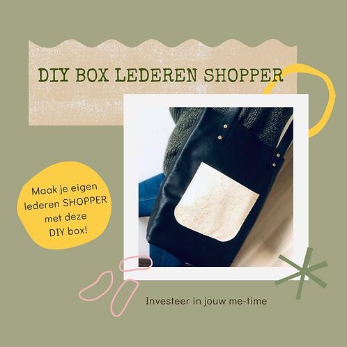 DIY box Lederen shopper