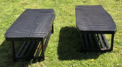 Custom Redwood Coffee Tables