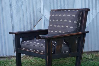 Custom Craftsman Style Sway Back Chair