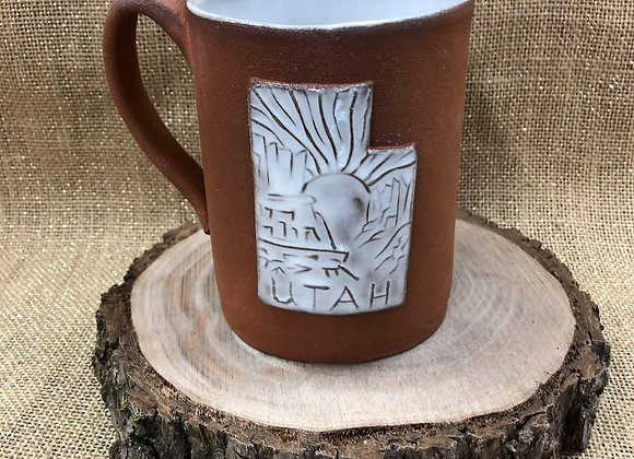 Local Artisan Utah Pottery Mugs 14oz