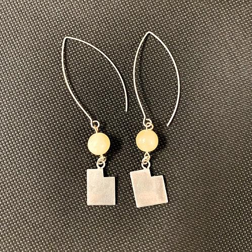 Utah Shaped Dangle Earrings