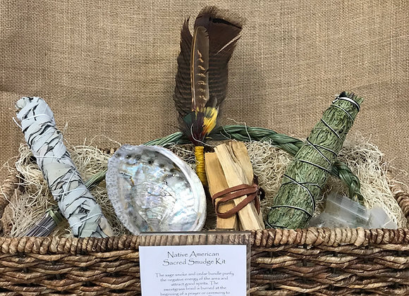 Native American Sacred Smudge Kit