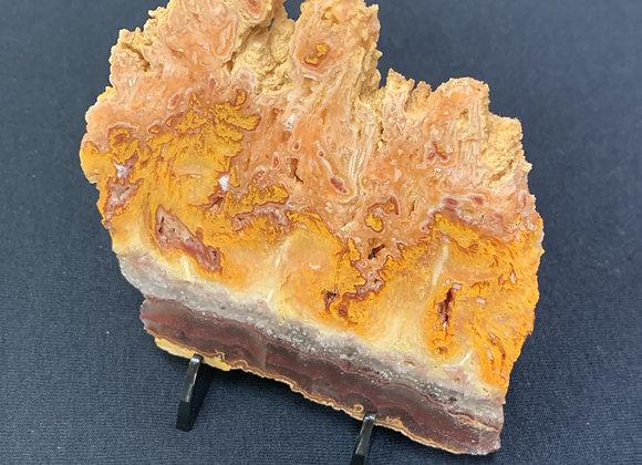 Wild Fire Opal Slice