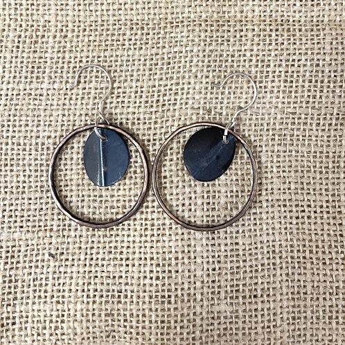 Medium Hoop Dangle Earrings