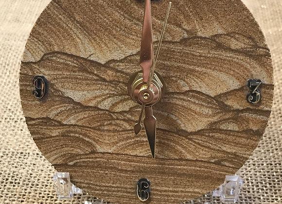 Kanab Goldenstone Clock
