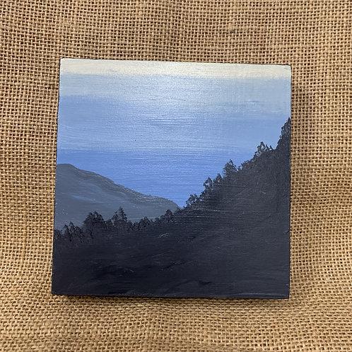 Mountainous Landscape Painting
