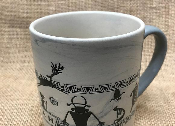 Utah Native Figures Mug