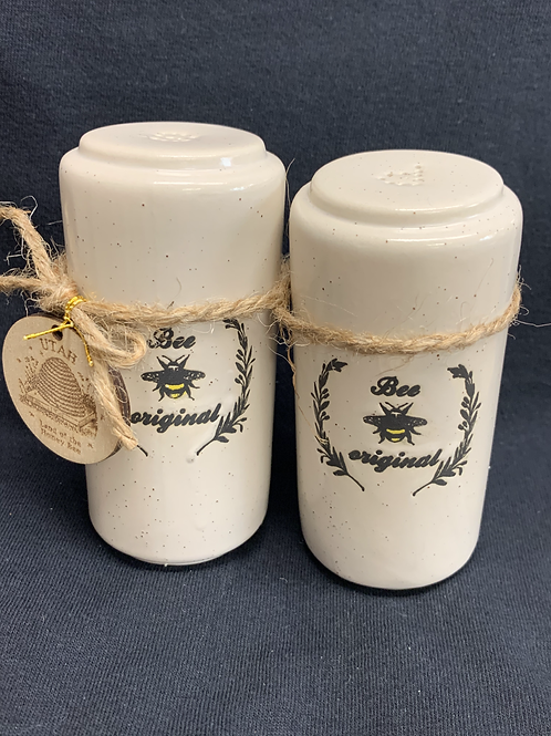 Bee Original Salt & Pepper Shakers