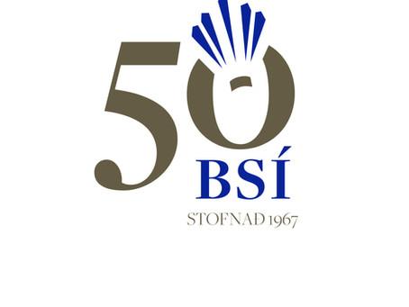 Badmintonsamband Íslands 50 ára
