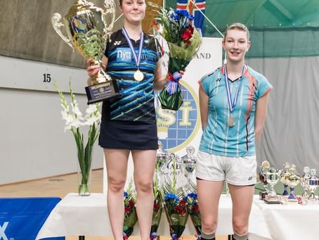 Margrét og Kristófer Darri eru badmintonfólk ársins 2017