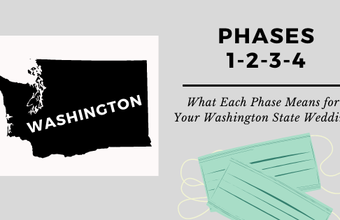 What Does Phase 1, 2, 3 and 4 Mean For Your Washington State Wedding?