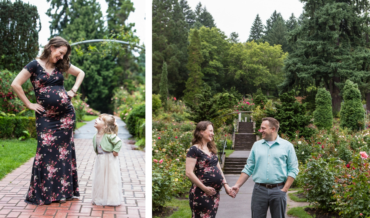 Portland-Rose-Garden-Maternity-Photograp