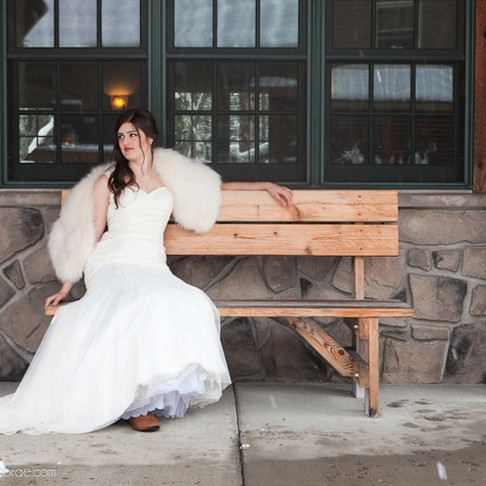 Winter Wedding Styled Photography Session | Government Camp, Oregon