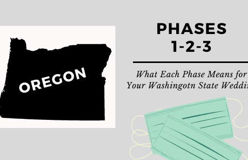 What Does Phase 1, 2 and 3 Mean For Your Oregon State Wedding?