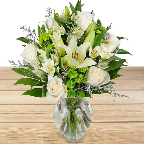Large Flower Arrangement w/vase