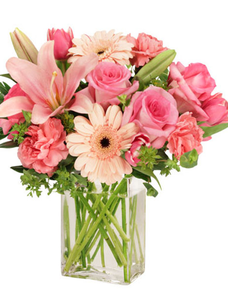 Small Flower Arrangement w/ vase