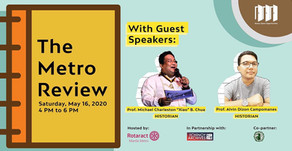 Rotaract hosts a Metro Review talk in partnership with TCA