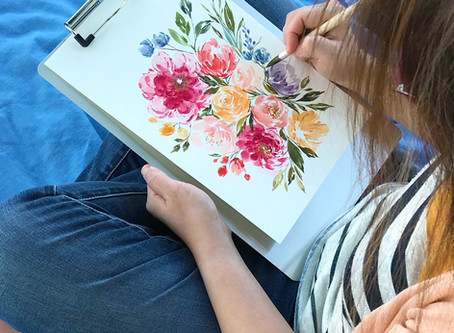 Changing Niches: Transition from a Watercolor Artist to a Surface Pattern Designer