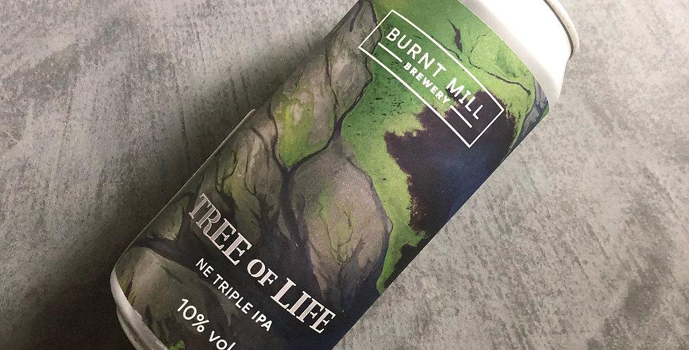 Burnt Mill / Unite 2021 Tree of Life 10% TIPA (IWCBD)  440ml