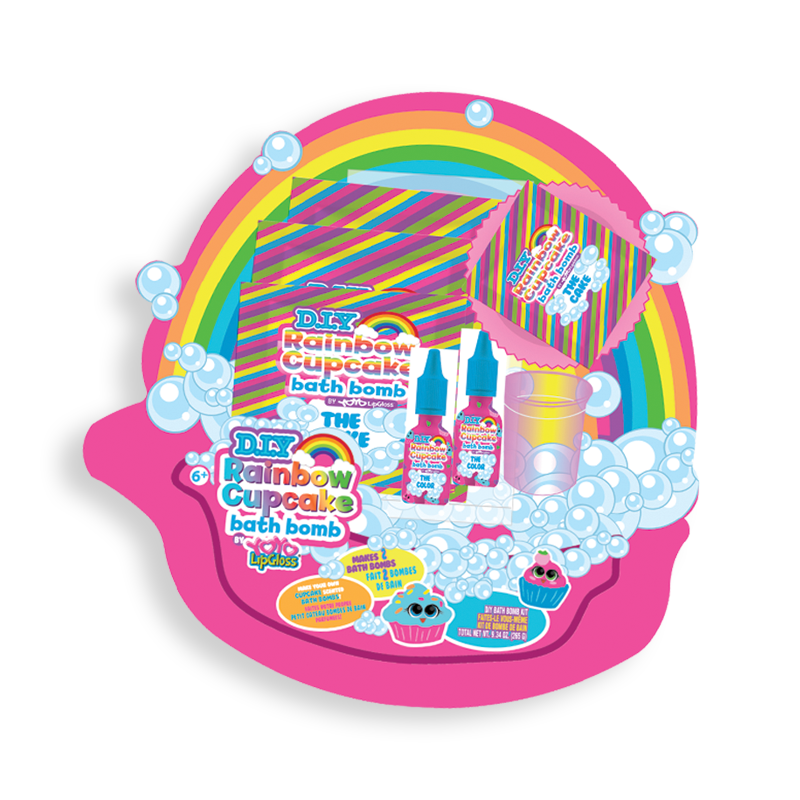 diy rainbow cupcake bath bomb 2017-11010