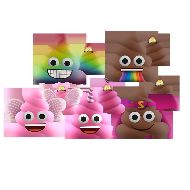 emoji squishy banks assortment 2018-1011