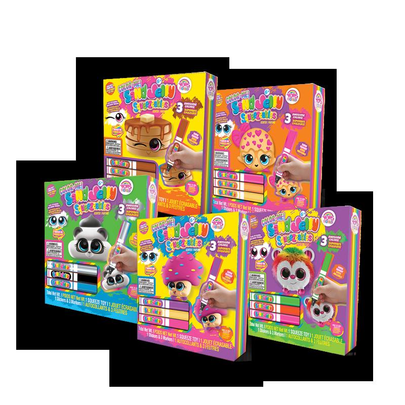 diy sand jelly color me box set assortme