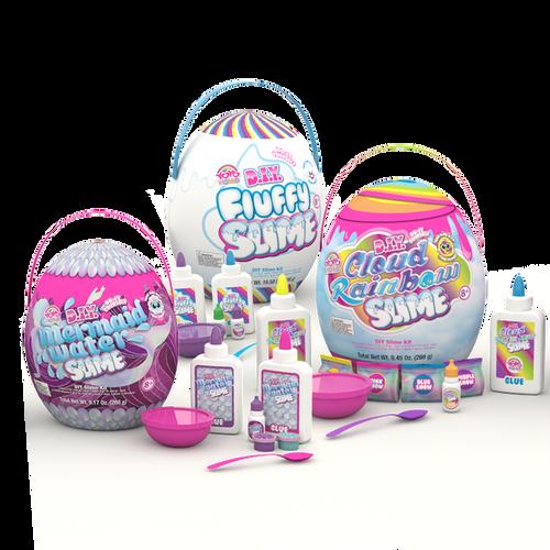 diy jumbo slime eggs assorted 2018-11892