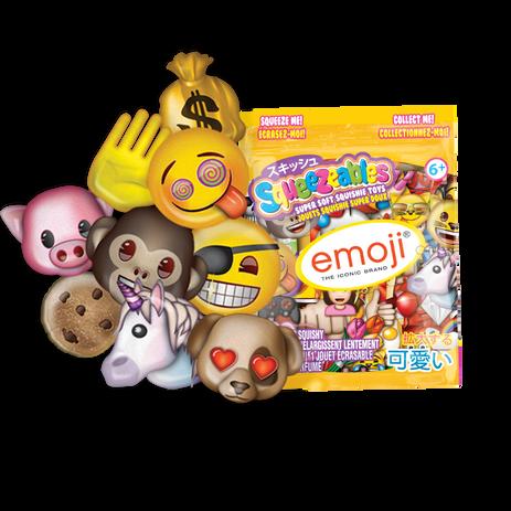 emoji squeezeables regular assorted  201