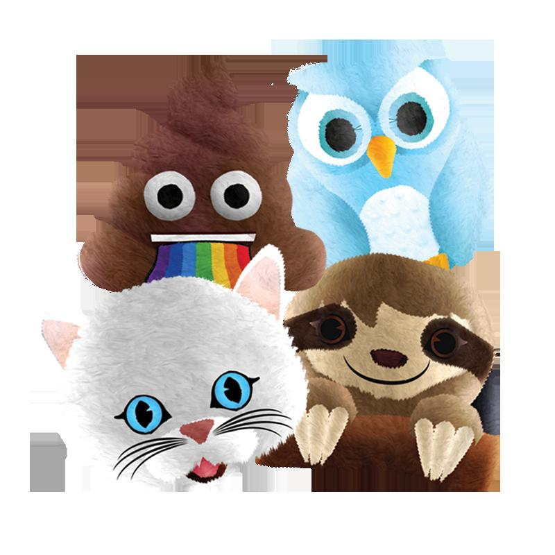 emoji plush squeezeables assortment 2019