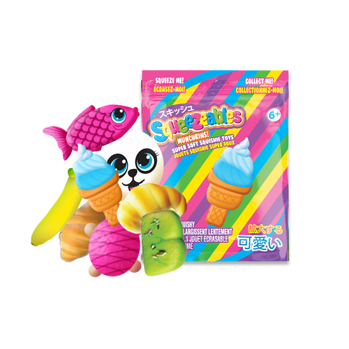 squeezeables munchkins assorted 2017-809