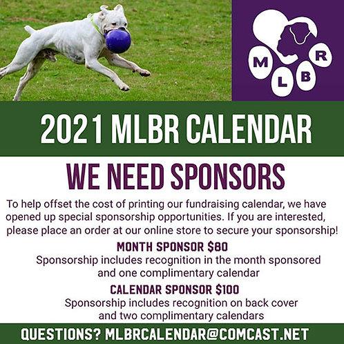 2021 Calendar General Sponsor